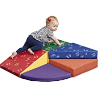 ECR4Kids SoftZone Junior Tiny Twisting Climber - Indoor Active Play Structure for Babies and Toddlers - Soft Foam Play…