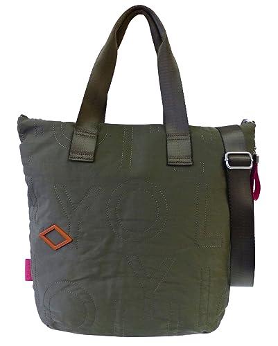 Spell Shopper LVZ Mud Damen Schultertasche grün/khaki (32x38x10cm) Oilily spA4c