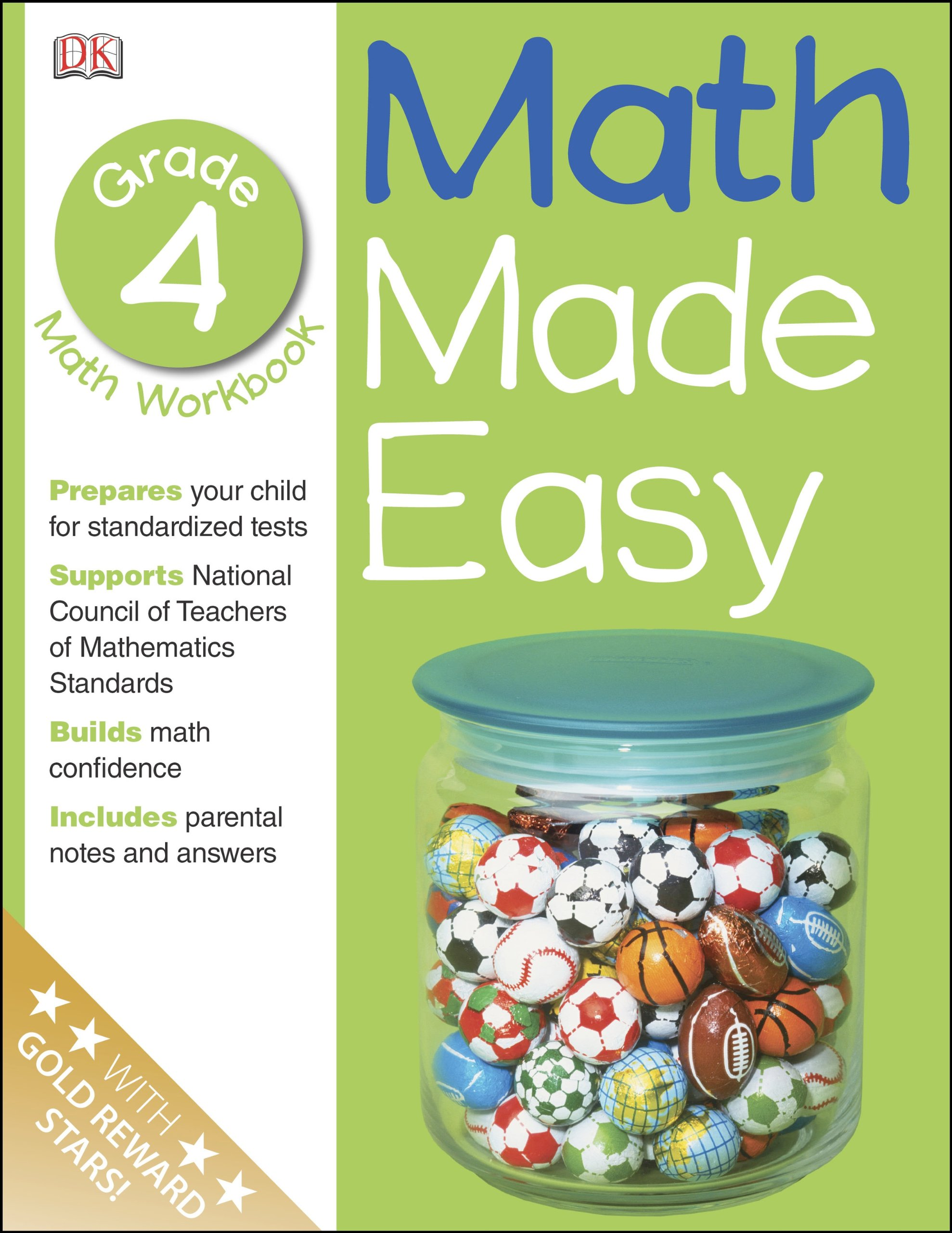Worksheet 4th Grade Math Workbook math made easy fourth grade workbook dk 9780789457356 amazon com books