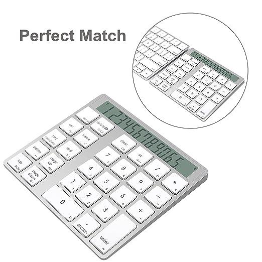 15 opinioni per Cateck Combo 2-in-1 Magic Keypad & Calcolatrice Wireless Bluetooth 28 Tasti per