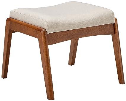 124c01f6e Amazon.com: Baxton Studio Roxy Upholstered Ottoman in Light Beige ...
