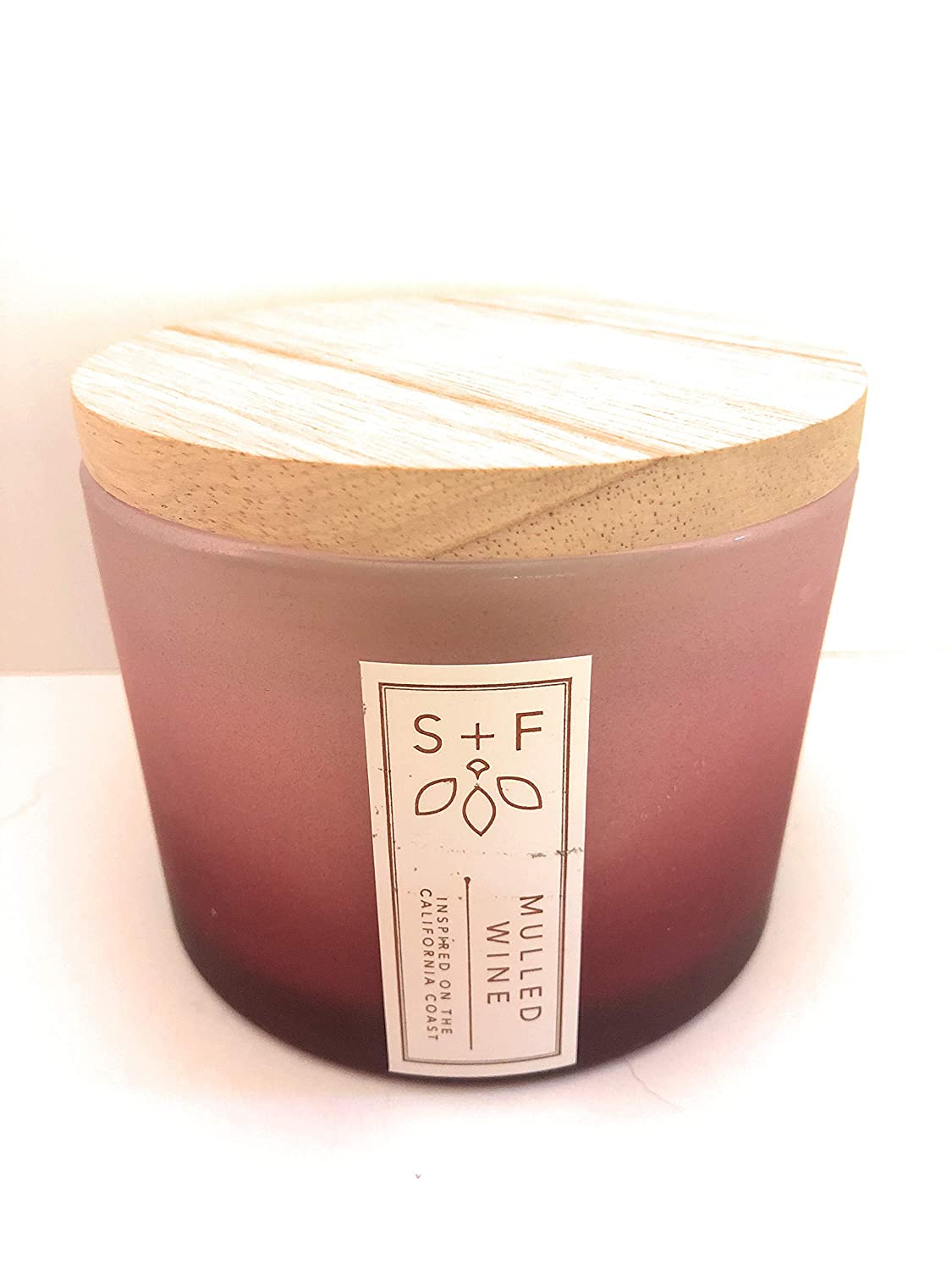 Sand And Fog Mulled Wine Candle with Lid 12 Oz