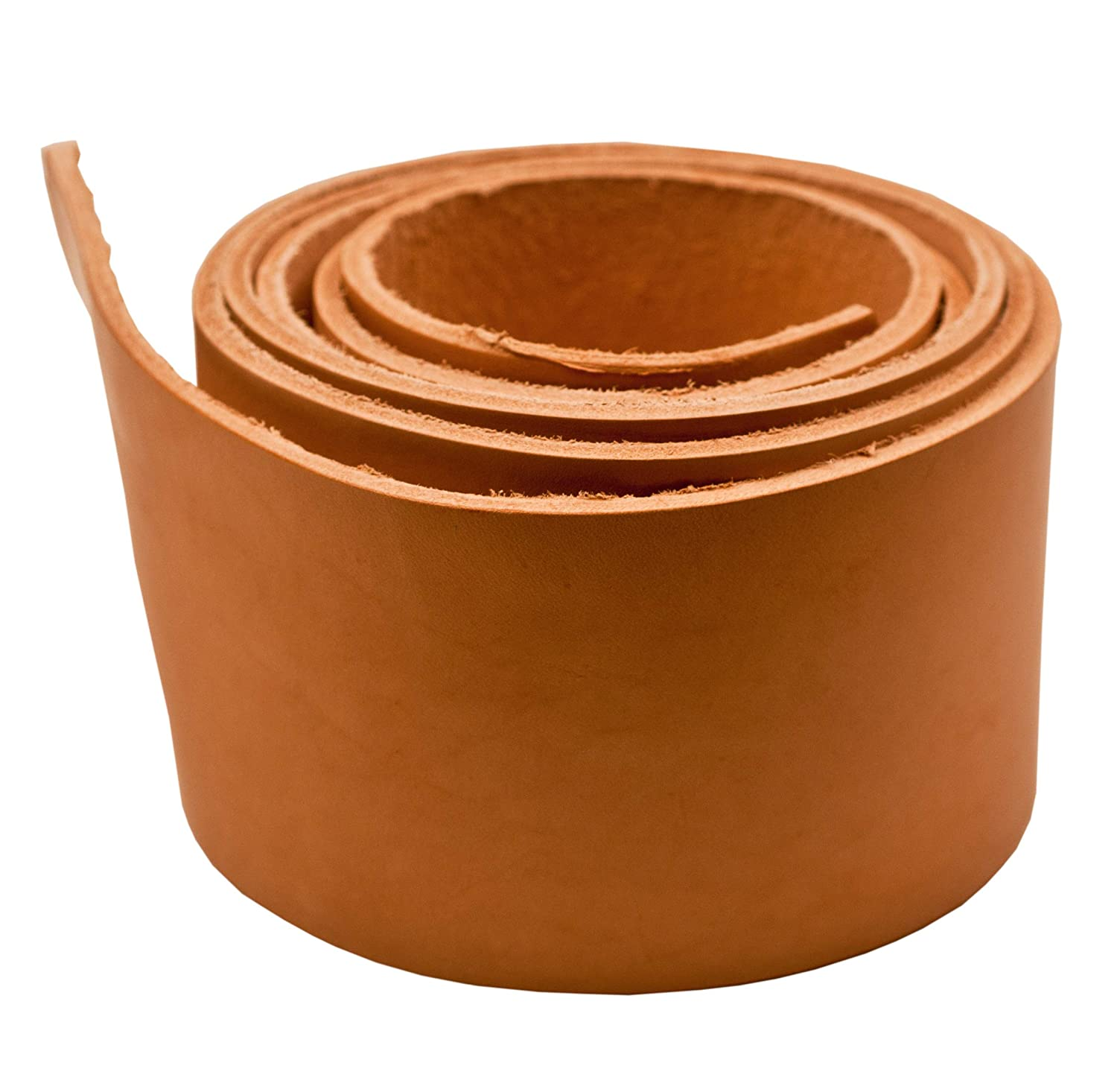 Jewelry Supply Craft Brown 1//2 x 84 5oz Genuine Leather CleverDelights Premium Cowhide Leather Strap