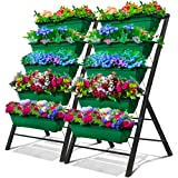 4-Ft Raised Garden Bed - Vertical Garden
