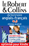 Dictionnaire anglais-français le Robert & Collins, Niveau avancé