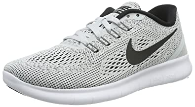 sports shoes c7db0 fd9a2 Nike Free Run, Chaussures de Running Entrainement femme - Blanc  (White Black