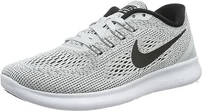Nike Women's Free RN Running Shoe White/Black/Pure Platinum 8.5