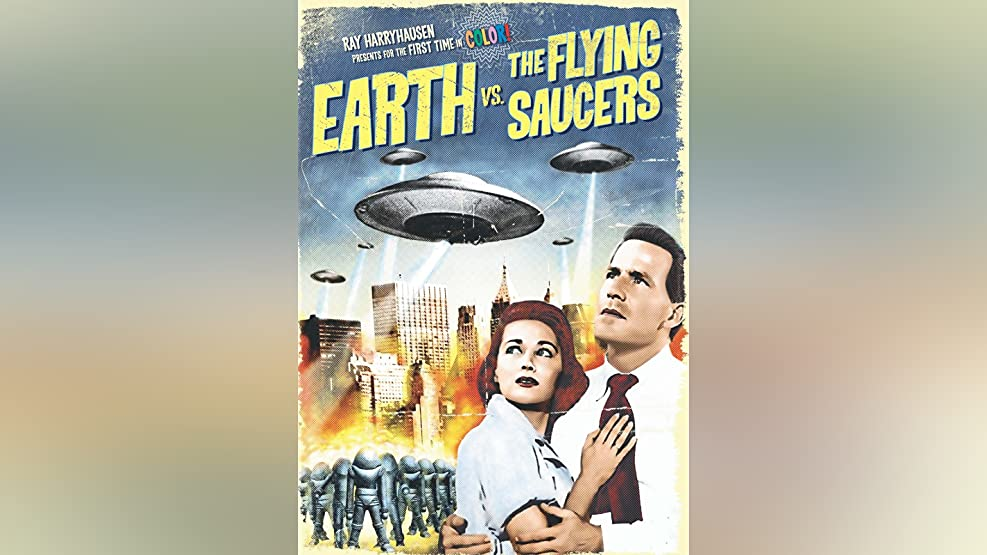 Earth vs. The Flying Saucers (Color)