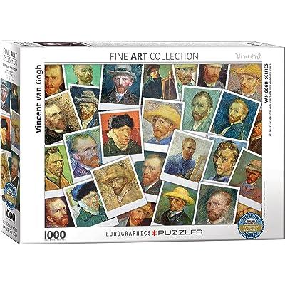 Eurographics 6000–5308van Gogh selfies puzzle (lot de 1000)