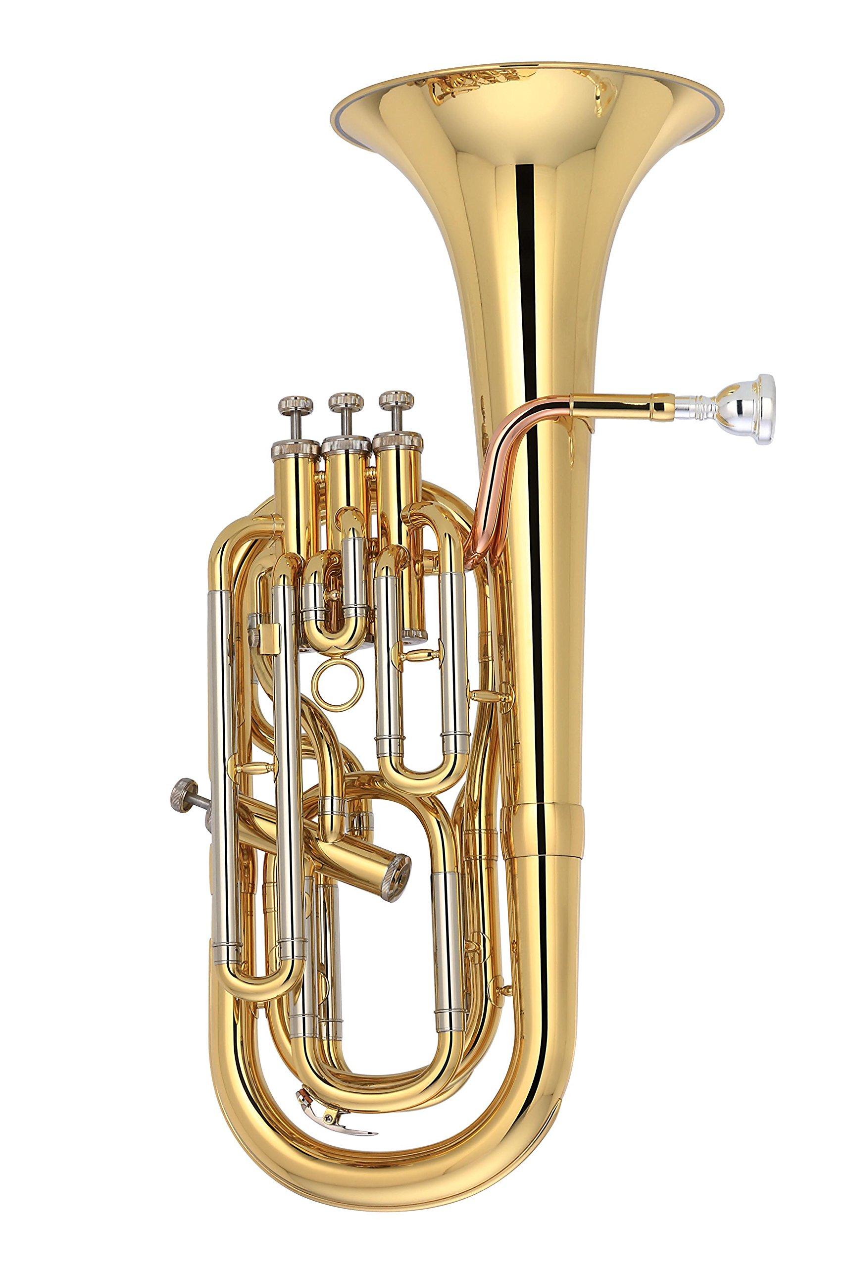 Valkyrie 812L3 Standard Level Baritone Horn, Gold
