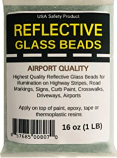 Airport Quality Reflective Glass Beads AASHTO 1-15 pounds