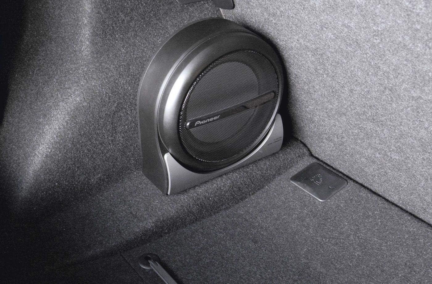 Kompakt Kraftvoll Pioneer Aktiv Subwoofer Ts Wx210a Elektronik