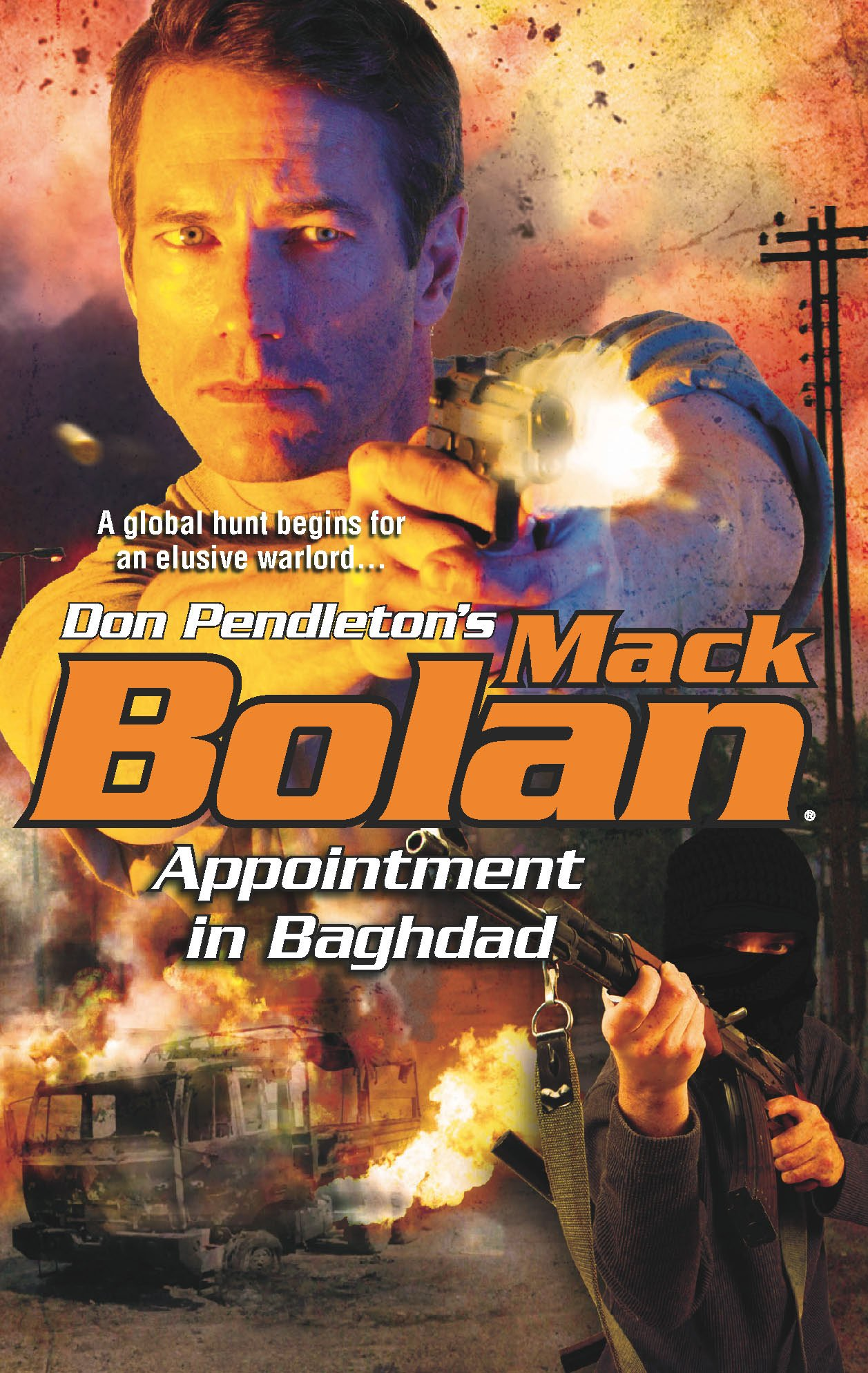 Amazon.com: Appointment In Baghdad (Mack Bolan) (9780373615230): Don  Pendleton: Books