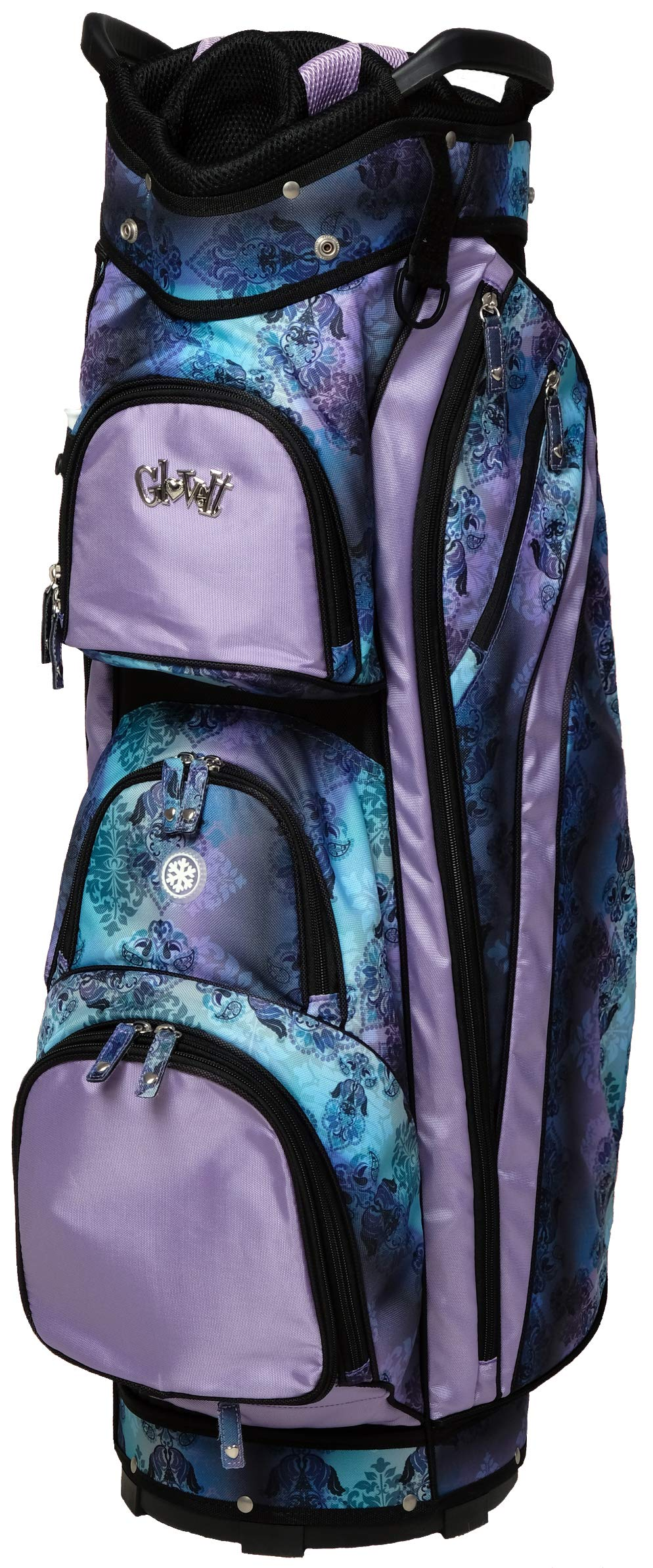 Glove It Women's Golf Bag Ladies 14 Way Golf Carry Bag - Golf Cart Bags for Women - Womens Lightweight Golf Travel Case - Easy Lift Handle - 2019 Lilac Paisley