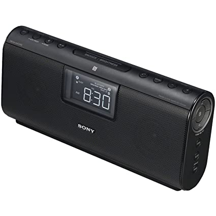 Sony Altavoz con Bluetooth® - Radio (Reloj, Digital, AM, FM,