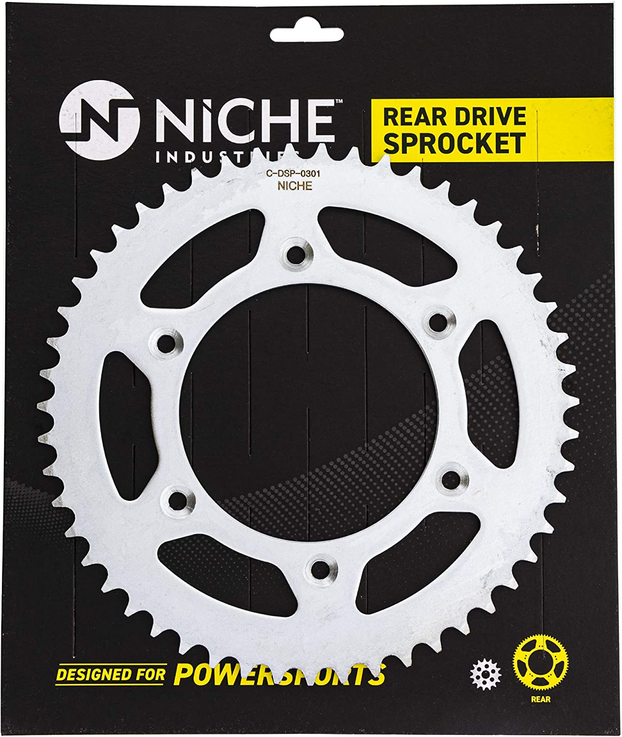 NICHE Drive Sprocket Chain Combo for Honda CRF250R Front 13 Rear 48 Tooth 520V O-Ring 116 Links