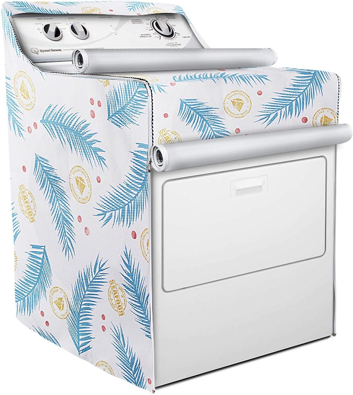 Amazon.com: Funda para lavadora y secadora, apta para carga ...