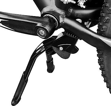 BV bicicletas Negro ajustable y plegable Doble brazo pata de cabra ...