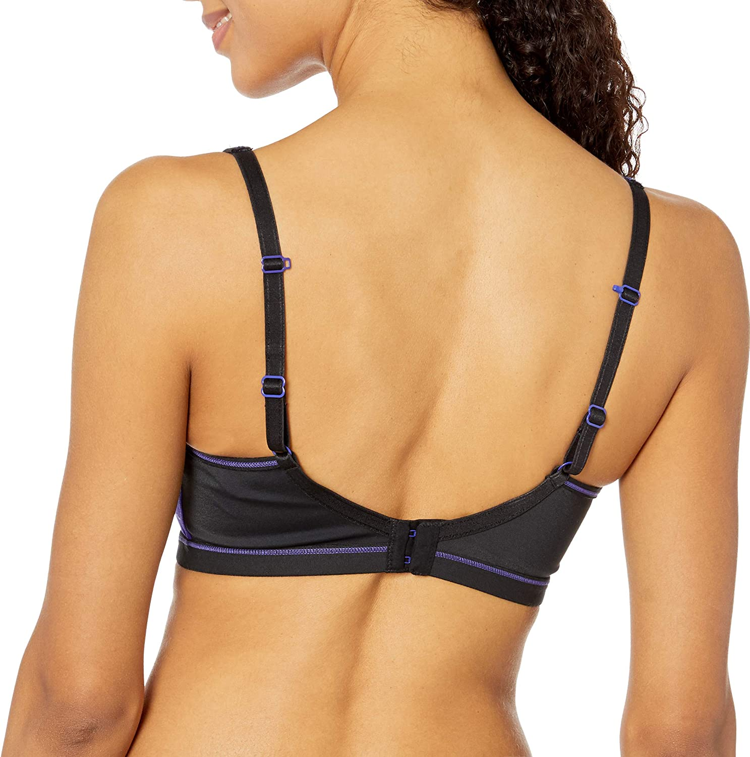 Freya Womens Epic Underwire Crop Top Sports Bra with Molded Inner