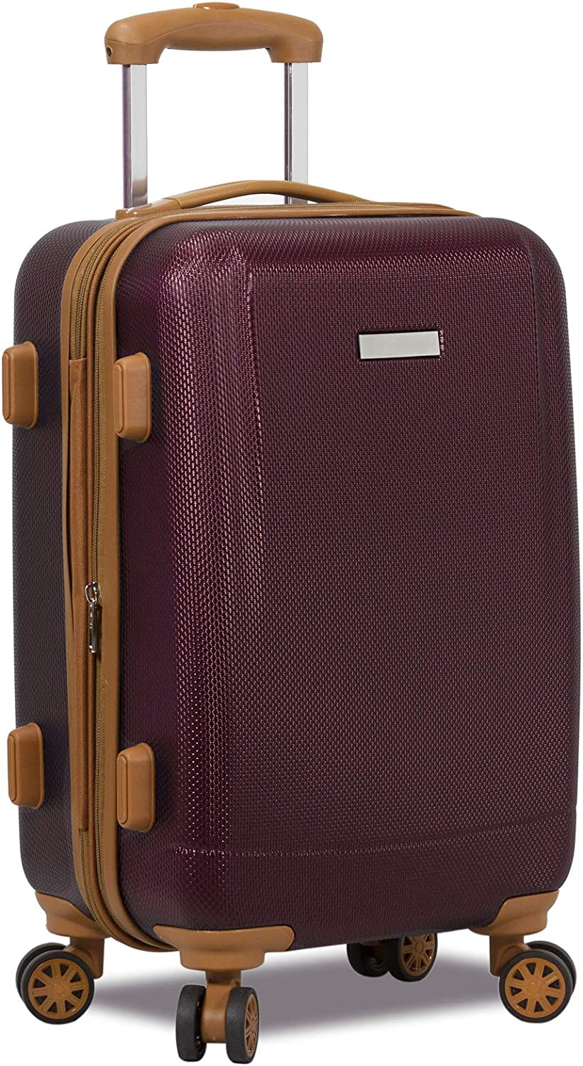 Dejuno Legion Hardside Spinner TSA Combination Lock Carry-on Suitcase