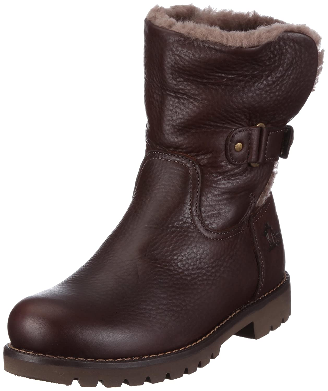 Women PT100348 Warm lined biker boots half length Black Size: 8 UK Panama Jack kytVyr