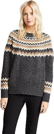 Vince Women's Fair Isle Raglan Sweater