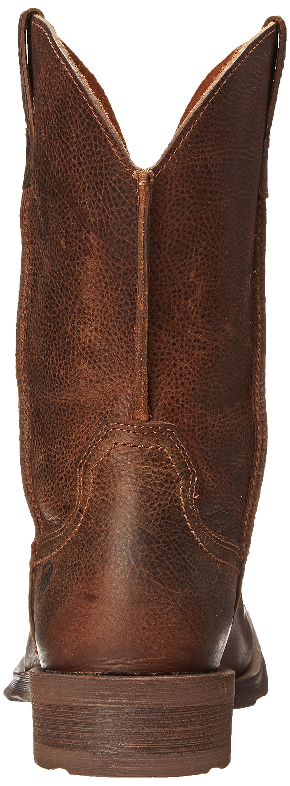 Ariat Men's Rambler Wide Square Toe Western Cowboy Boot, Wicker, 10 M US by ARIAT (Image #2)