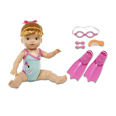 BABY born MOMMY, Look I Can Swim!- blonde: Toys & Games