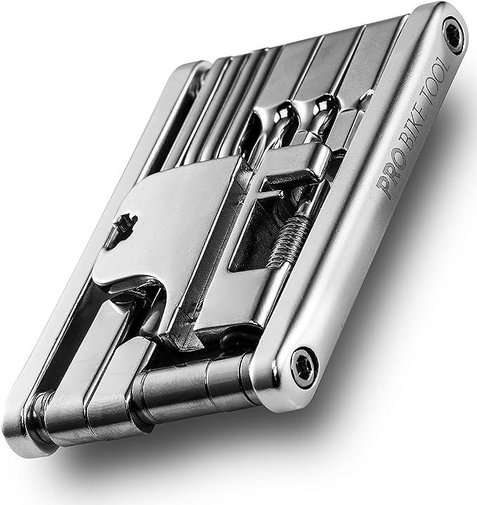 10 In 1 Bicycle Bike Folding Repair Tool Portable Cycling Pocket Multi Tool