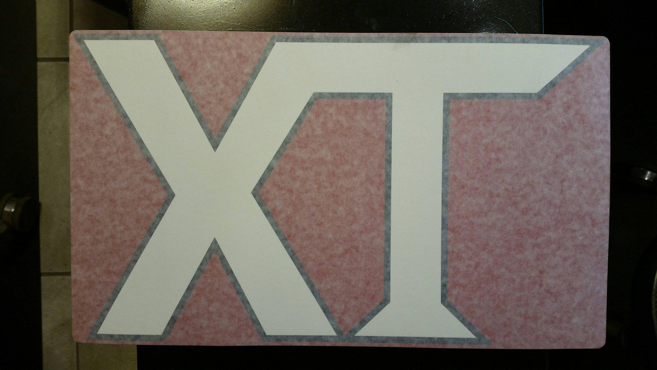 Boss Part # MSC10190 - Power-V''XT'' Front of Blade Decal Sticker