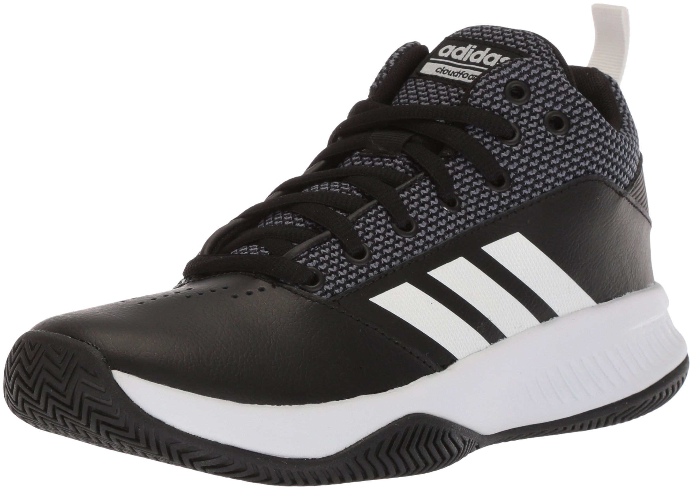 adidas Men's CF Ilation 2.0 Basketball Shoe, Core Black/White/Grey Five, 10.5 M US by adidas