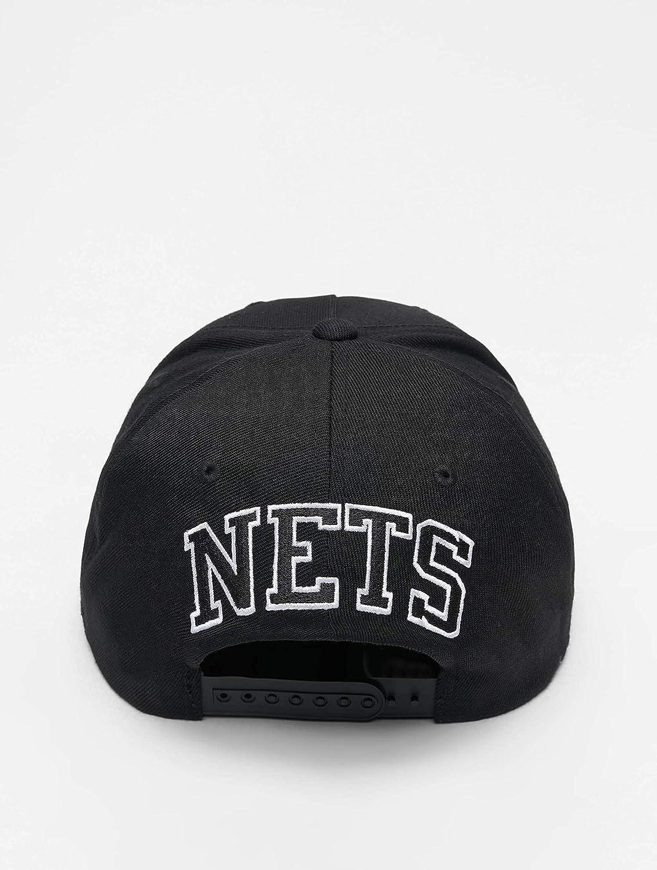 Mitchell & Ness Gorras Brooklyn Nets Eazy Black 110 Adjustable ...