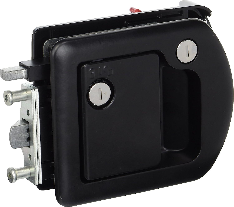 TriMark 601650 Door Handle, Black