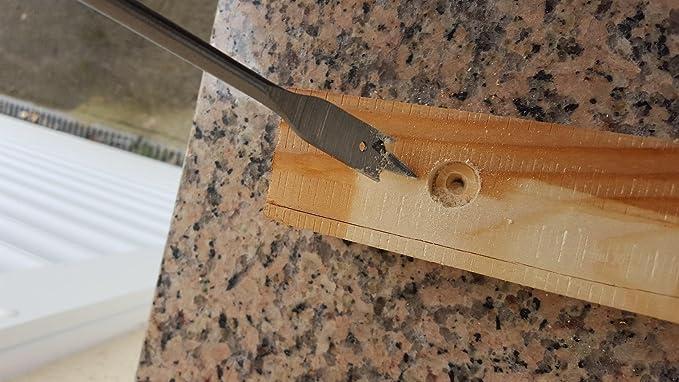 11,0 mm Flachfr/äsbohrer Holzbohrer Flachsenker Flachfr/äser