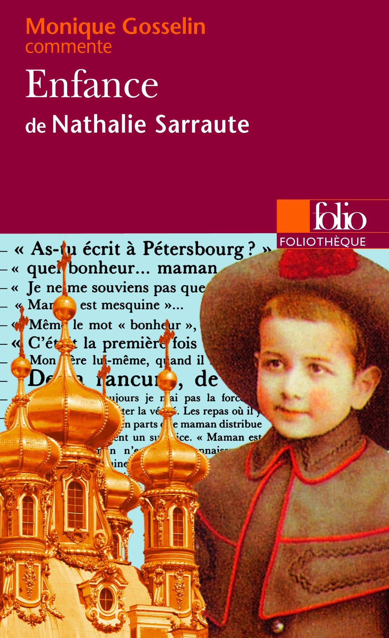 Enfance De Nathalie Sarraute Monique Gosselin