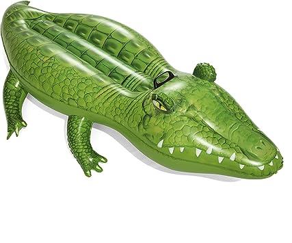 Bestway Flotador cocodrilo 168 x 89 cm