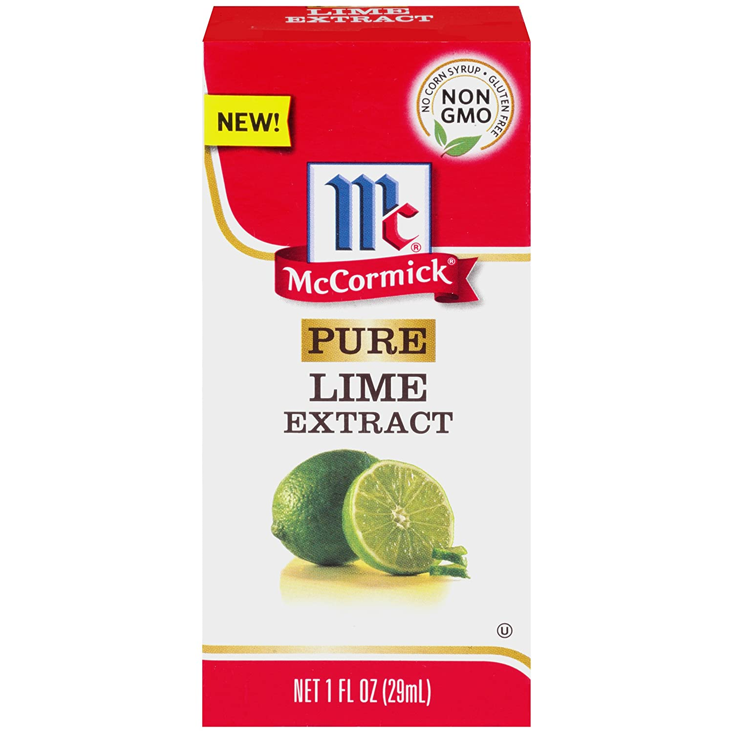 McCormick Pure Lime Extract, 1 fl oz