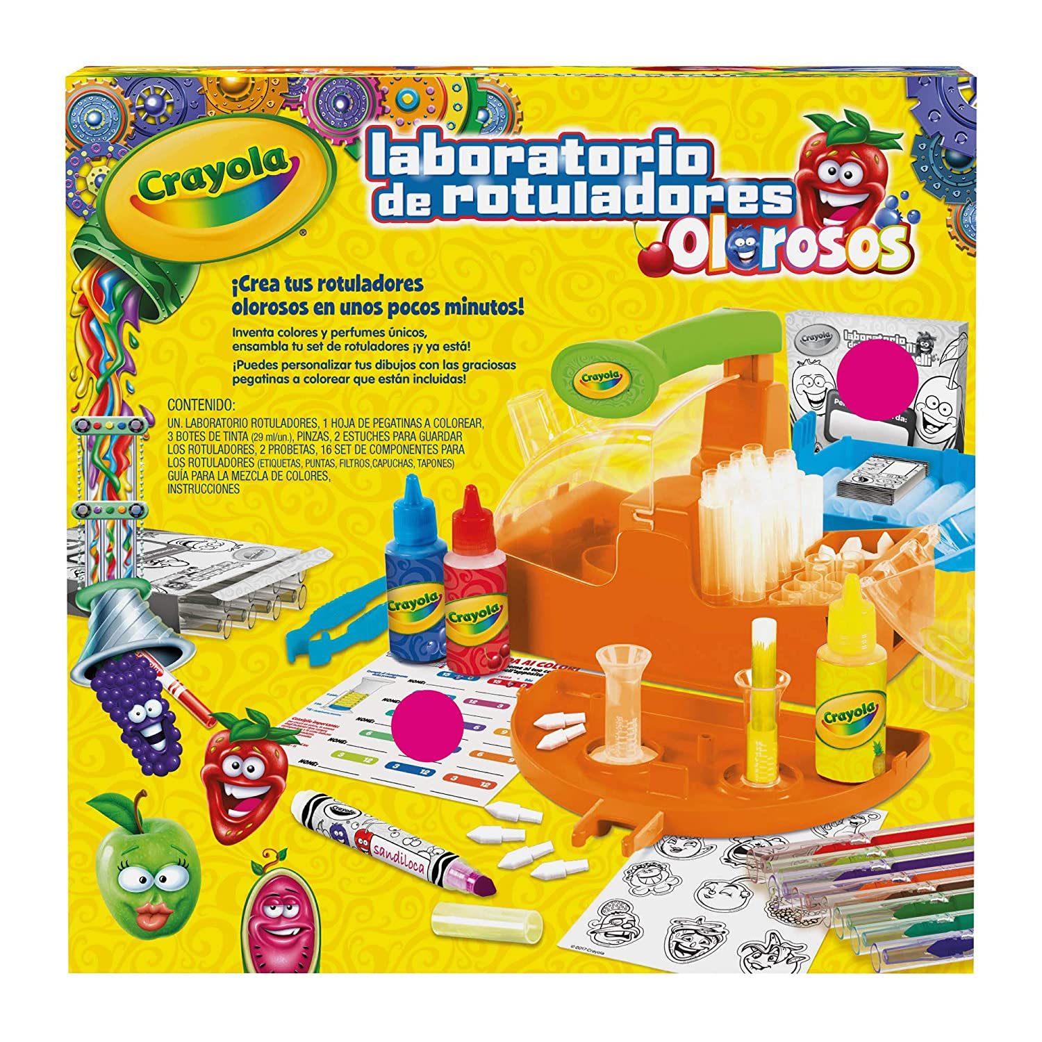 Amazon.com: Crayola Laboratory Markers, Multicolor (25 ...