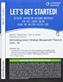 MindTap Management, 1 term (6 months) Printed Access Card for Hill/Schilling/Jones' Strategic Management: Theory & Cases: An Integrated Approach, 12th (MindTap for Management)