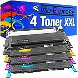 PlatinumSerie® Set 4 Toner-Kartuschen XXL kompatibel für Samsung CLT-4092 CLP-310 K N CLP-315 K N W CLX-3170 N FN CLX-3175 N NF FW