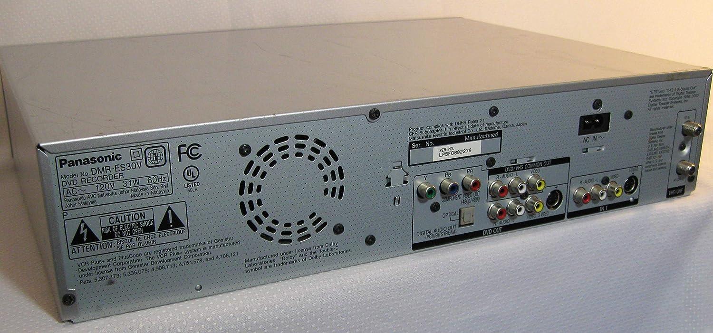 PANASONIC DMR-ES30VS DVD RECORDER WINDOWS 10 DRIVERS DOWNLOAD
