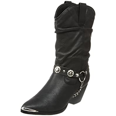 Amazon.com | Dingo Women's Olivia Slouch Boot | Mid-Calf
