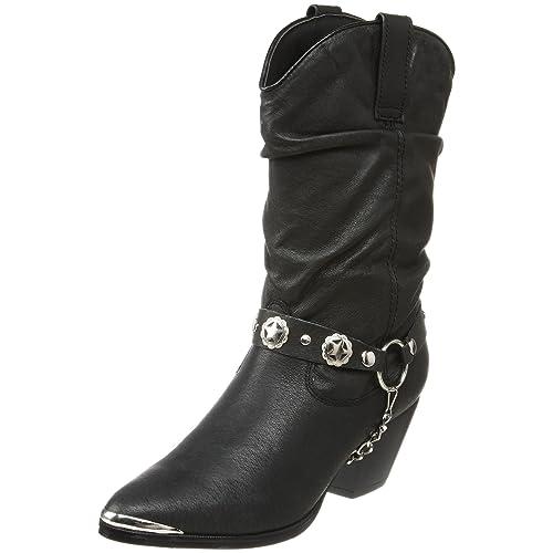 cf42edda9b774 Amazon.com | Dingo Women's Olivia Slouch Boot | Mid-Calf