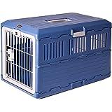 Iris Ohyama, boîte de transport pliable pour chien et chat max 20 kg - Pet f6240d089dd2
