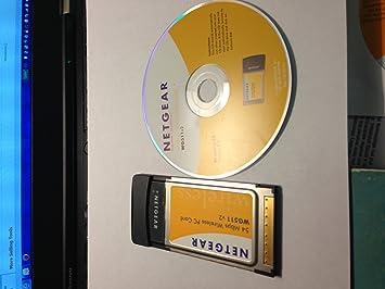 NETGEAR 54 MBPS WIRELESS PC CARD WG511 FACTORY SEALED