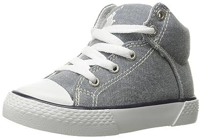 b217e17e1cc4ff Polo Ralph Lauren Kids Boys  Colton Sneaker Blue Paper White 6.5 M US  Toddler