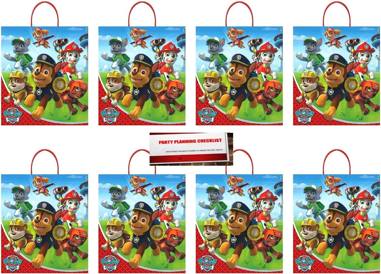 16 Pack Multicolor Wilton 1912-7900 Paw Patrol Treat Bags