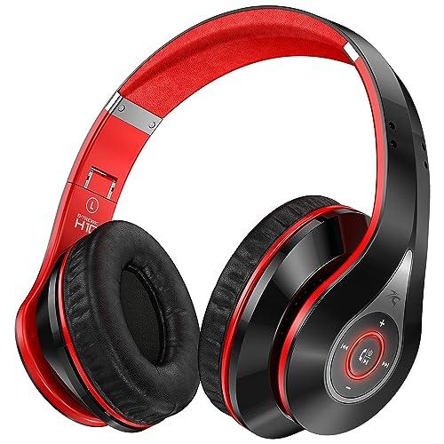 Sentey B-Trek H10 Bluetooth Headphones Wireless Headset Foldable Gaming Headset V4.0