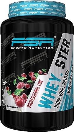 FSA Sports Nutrition wheyster 100% proteína Whey – 900 ...