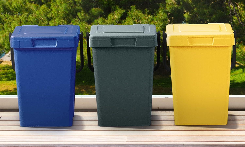 Mattiussi Ecologia Minimax, Plastica, Blu Giallo Verde, 32x41x35 cm Minimax25L3Pz